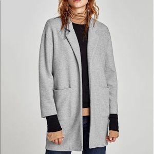 Soft grey coat